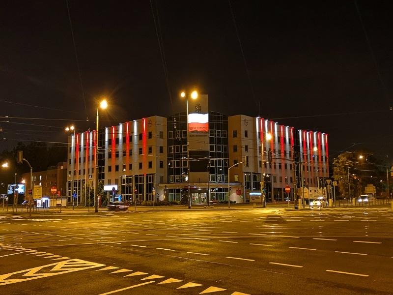 Oświetlenie Urzędu Dzielnicy Bemowo   m. st. Warszawy